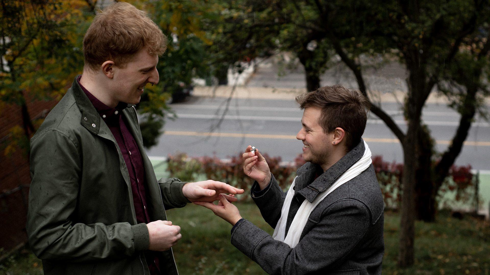 Andrew & Markus